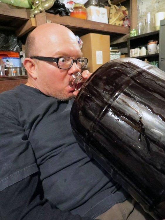 winemaking - drinking from jug.jpg